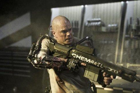 "Matt Damon es Max en ""Elysium"""