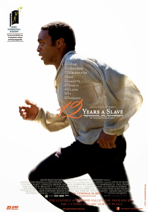 12 Years A Slave poster large malaysia