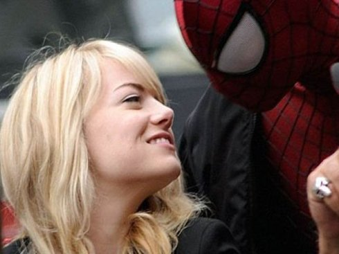 pict Spidey and Gwen