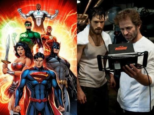 Zack Snyder Liga de la Justicia