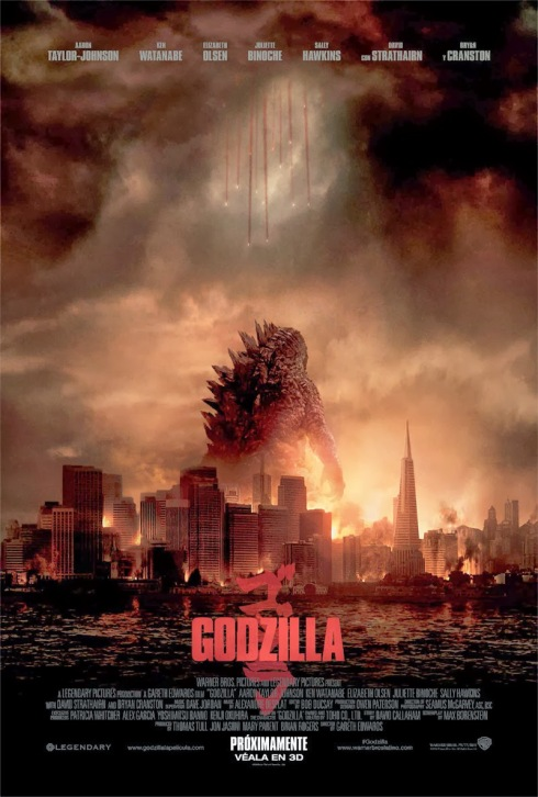 Poster Godzilla 2014